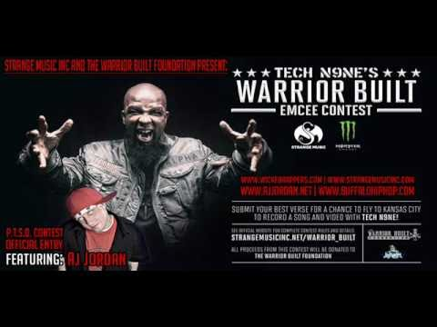 Tech N9ne & Krizz Kaliko - PTSD Feat. AJ Jordan (Official Warrior Built Contest Entry)
