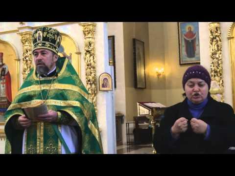 2014.11.09 - о. Олег Семенчук - Проповедь по окончании литургии