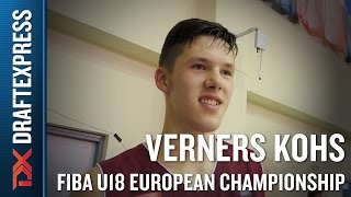 Verners Kohs 2015 FIBA U18 European Championship Interview