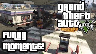 Hey guys! Some funny moments while playing Grand Theft Auto 5 with friends! Hope you guys enjoy! Please like and subscribe and make sure to share with your f...