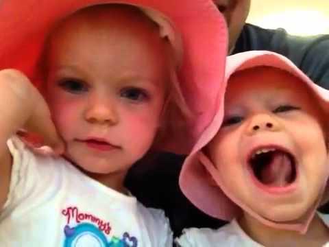Cara and Katelin in Sun Hats