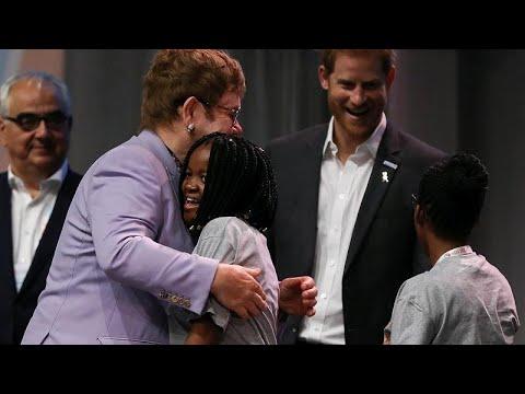 Πρίγκιπας Χάρι – Σερ Έλτον Τζον: Συμμαχία κατά του HIV