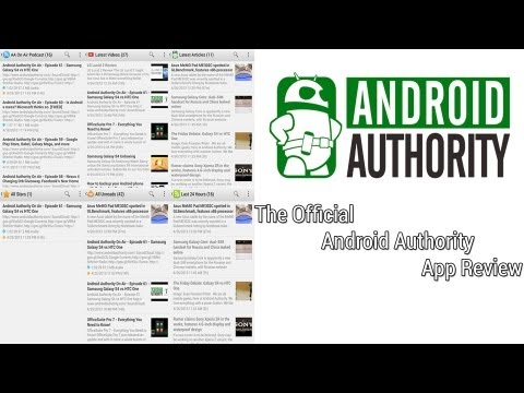Video of Android Authority