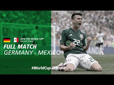#WorldCupAtHome   Germany v Mexico (Russia 2018)
