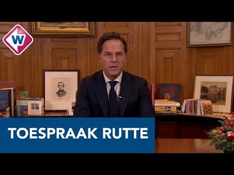 Toespraak Mark Rutte over de nieuwe coronamaatregelen - OMROEP WEST