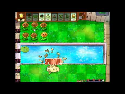 preview-Let\'s Play Plants vs. Zombies! - 007 - Crazy Dave\'s shop, and Mini-Zombies! (ctye85)