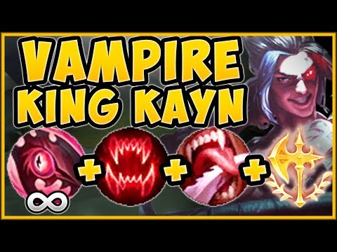 UHH RIOT??? ONE KAYN ULT HEALS HIM BACK TO FULL HP?? KAYN S9 JUNGLE GAMEPLAY! - League Of Legends