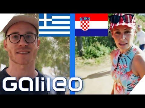 Kroatien vs. Griechenland: Wo kann man besser Urlaub machen? | Galileo | ProSieben