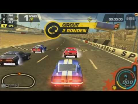 need for speed prostreet psp gameplay