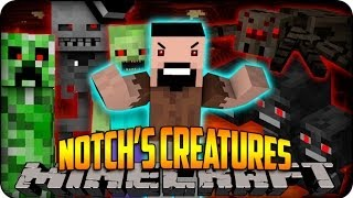 Minecraft Mods - HOW TO CRAFT THE ENDERDRAGON&MORE - (Craftable Animals) Mod Showcase