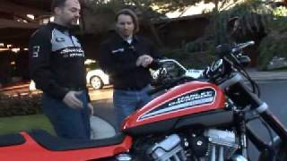 4. 2009 Harley-Davidson Sportster XR1200 Motorcycle Review