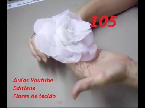 Flor Estilizada branca