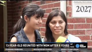 A Texas woman and her long-missing daughter have reunited in Houston after an eight-year cross-border case that had mistakenly sent another girl to the U.S. ...