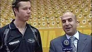 Интервью с Vladimir Samsonov после победы Kuwait Open 2008
