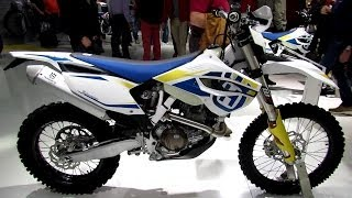 7. 2014 Husqvarna FE 450 Walkaround - 2013 EICMA Milan Motorcycle Exhibition