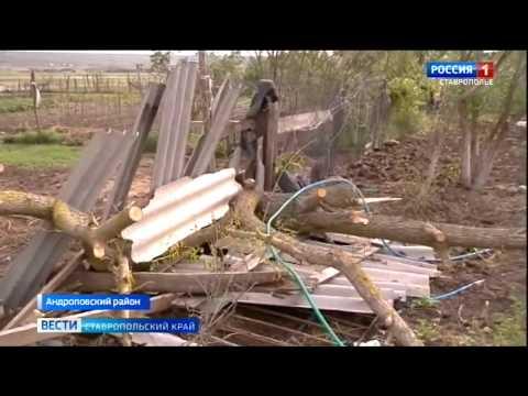 В селе Куршава на Ставрополье стихия повредила 85 домов