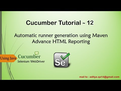 Auto Generate Runner In Cucumber For Parallel Testing | Advance HTML Reporting In Cucumber