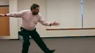 Bernie Berlow - Playing Tai Chi - Dr. Wu Sequence