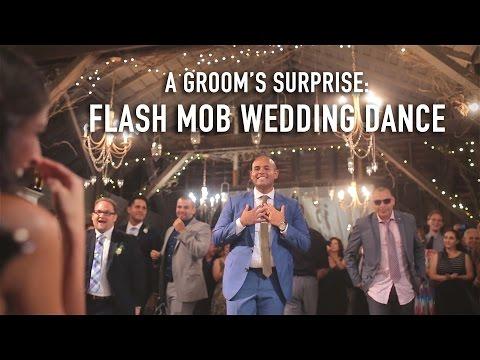 VIDEO VIRAL: Cel mai haios dans de nuntă! Mirele i-a pregătit soţiei un cadou de neuitat