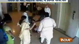 Daman India  city photos : Video: BJP Leader, Woman Corporator Engage in Physical Fight in Daman - India TV