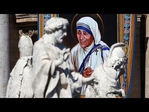 Βατικανό: Ο Πάπας Φραγκίσκος αγιοποίησε την Μητέρα Τερέζα