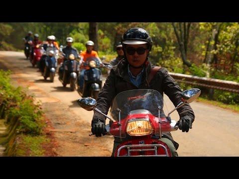 Photo Tour 2015 - Cùng Vespa Sprint/ GTS 150 Chinh Phục Langbiang.