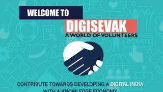 We are proud to have created DigiSevak, Digital India's Volunteer Management Program.DigiSevak, a landmark in India's move towards digitizing with inclusiveness. The platform was unveiled by Honourable Union Minister, Shri Ravi Shankar Prasad during India International Trade Fair, 2016.