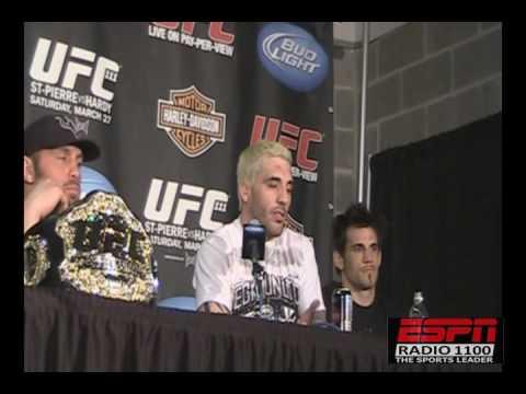 UFC 111 Post Fight Kurt Pellegrino leads the NJ crew to three wins