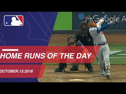 Video: Watch all the home runs from October 13, 2018