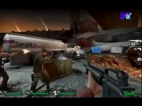 Икона Видеоигр Left 4 Dead.