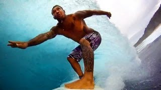 Sunny Garcia and Kalani Robb BACKDOOR