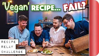 'VEGAN' Recipe Relay Challenge | Pass it On Ep.12 by SORTEDfood