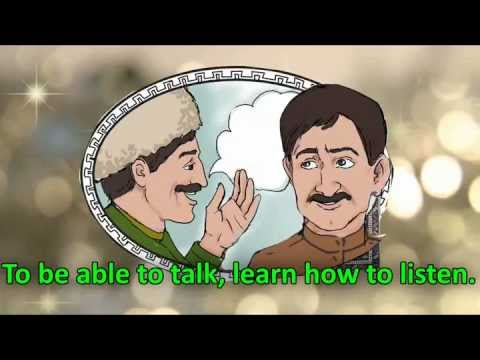 lezgi - Lezgi people of the Caucasus Region have many interesting and useful proverbs. They are used by wise people in many situations to communicate morals, pragmat...