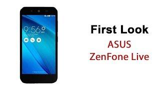 ASUS ZenFone Live First Look