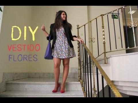 como hacer un vestido - DIY Costura de ropa mujer: Cómo hacer vestido de flores (patrón incluido). Despliega la descripción para obtener toda la información!!! PATRON o MOLDE: http:...