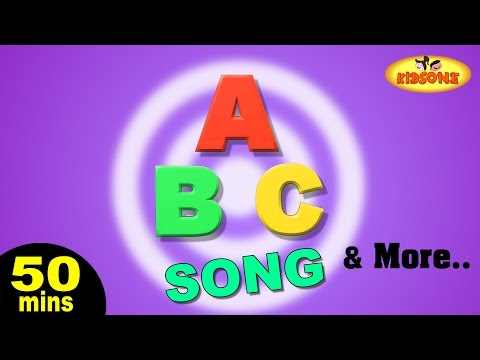 ABC Song | Wheels on the Bus | Alphabet Songs & More Popular Nursery Rhymes From KidsOne