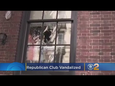 'Our Attack Is Merely A Beginning': Vandals Smash Windows, Spray Graffiti At Metropolitan Republican
