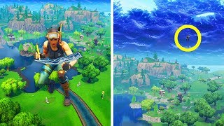 BUILDING INVISIBLE WALLS (FORTNITE TROLLING •)