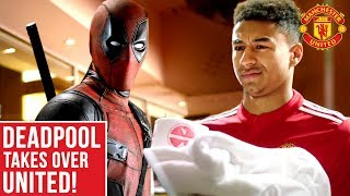 Video Deadpool Takes Over Manchester United! MP3, 3GP, MP4, WEBM, AVI, FLV Mei 2018