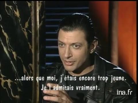 Jeff Goldblum répind à Jeff Goldblum - Archive INA