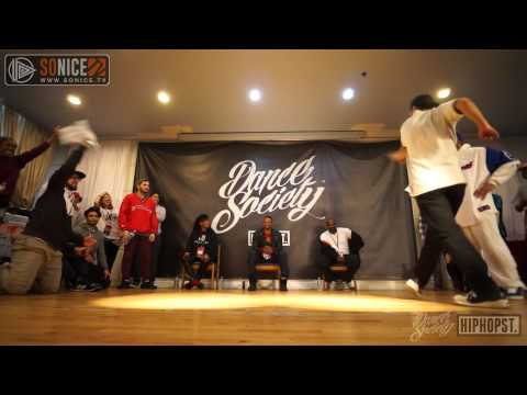 RICEBALL VS EFFECT|Hiphop Best 4|DanceSociety™ VOL.1