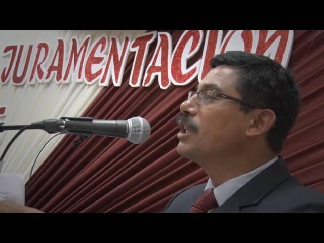 CIP CDM II CEREMONIA DE  COLEGIACION  2016-2018