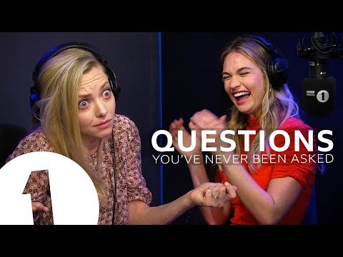 Mamma Mia's Amanda Seyfried & Lily James Answer Questions They've Never Been Asked