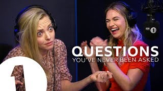Video Mamma Mia's Amanda Seyfried & Lily James answer questions they've never been asked MP3, 3GP, MP4, WEBM, AVI, FLV Juli 2018
