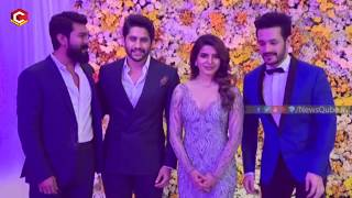 Video Ram Chran New Look Surprise all Akkineni Family Members | Naga Chaitantya and Samantha Reception MP3, 3GP, MP4, WEBM, AVI, FLV November 2017