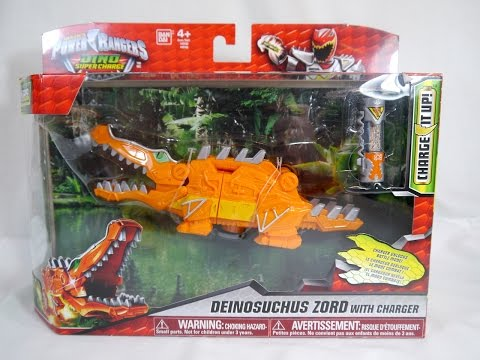 Review: Deinosuchus Zord with Charger (Power Rangers Dino Super Charge)