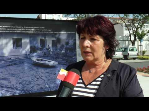 Napajedla - Výstava o povodních