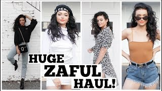 Video HUGE SPRING TRY-ON HAUL! Clothing, Bathing suits, Shoes, ect! MP3, 3GP, MP4, WEBM, AVI, FLV Juni 2018