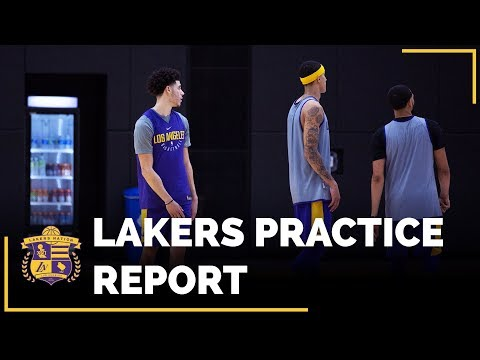Video: Lakers Practice: Lonzo Ball Opening Night, Rookies Minutes Restrictions?
