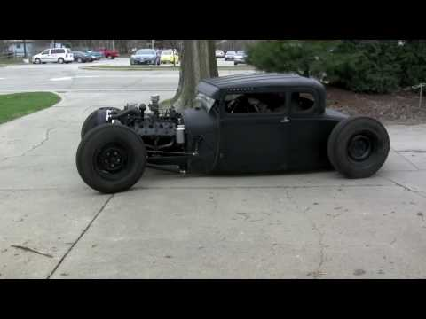 Ford  1929 Ford Coupe Hot Rod ~ Running Day 1